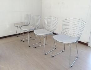 Sedia da soggiorno Bertoia mod.704 Alivar a prezzo Outlet