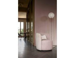 Sedia da soggiorno Chloè luxury Ditre italia SCONTATA