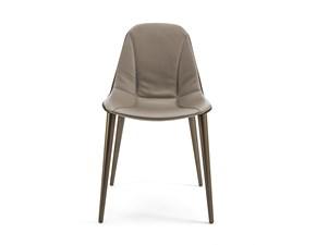 Sedia da soggiorno Couture Pellizzoni a prezzo Outlet