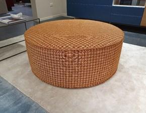 Sedia da soggiorno Cv 509 pouf tamburello 100 Prezioso in Offerta Outlet