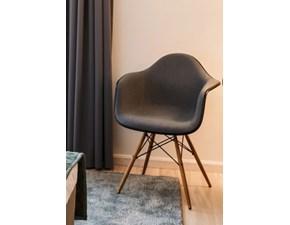 Sedia da soggiorno Eames plastic armchair Vitra SCONTATA