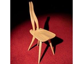 Sedia da soggiorno Fenis 2051 Zanotta a prezzo Outlet
