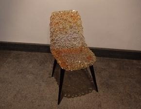 Sedia da soggiorno Gina Edra a prezzo Outlet