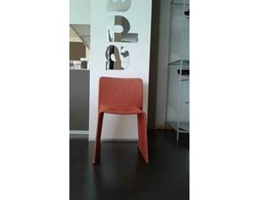 Sedia da soggiorno Glove di Molteni & c a prezzo Outlet