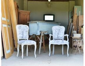 Sedia da soggiorno Modello brianzola Artigianale SCONTATA