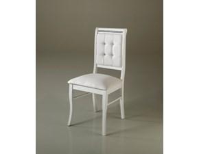 Sedia da soggiorno Modello prestige Artigianale in Offerta Outlet