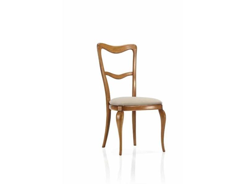 Sedia da soggiorno sedia adele artigianale a prezzo scontato - Sostituire seduta sedia ...