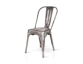 Sedia da soggiorno Sedie arix in metallo Artigianale SCONTATA