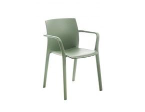 Sedia da soggiorno Set 4 sedie klia Kastel a prezzo scontato