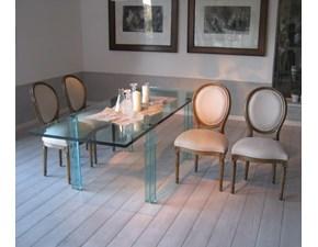 Sedia da soggiorno  set 4 sedie stile luigi xviii,rivisitate Becara SCONTATA