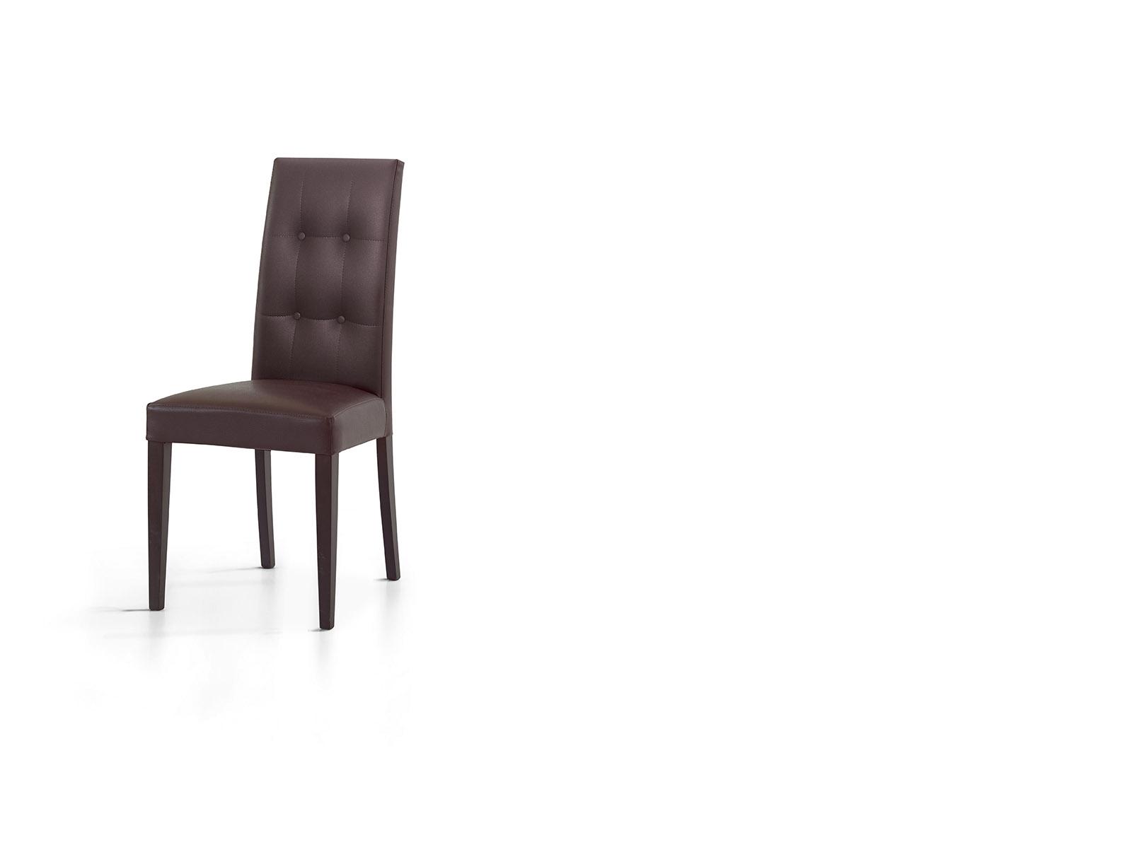 Sedia verona ecopelle design sedie a prezzi scontati for Sedie soggiorno economiche
