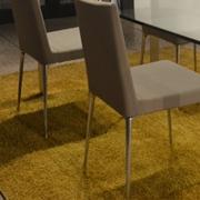 Sedie Desalto Tess completamente sfoderabili con gambe in alluminio.  Offerta Outlet Mobilgross. Scontate del -60%