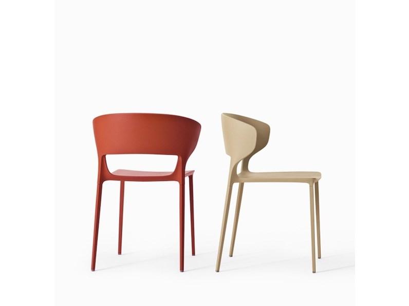 sedia design colorato desalto a prezzo scontato 25