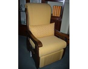 Sedia a poltroncina in legno Chiara Offerta Outlet