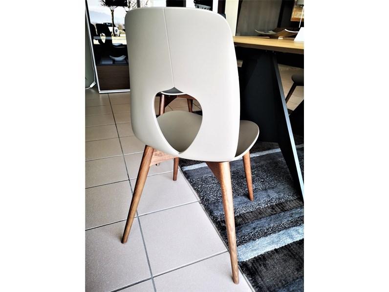 Sedie Di Design Outlet.Sedia Di Tonin Casa Hole Wood Prezzi Outlet