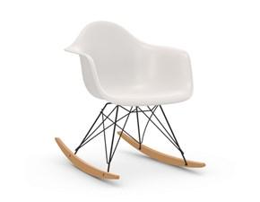 Sedia Eames plastic armchair rar Vitra a prezzo scontato