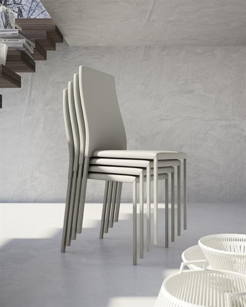 Sedia ecopelle modello cat sedie a prezzi scontati for Sedie in ecopelle