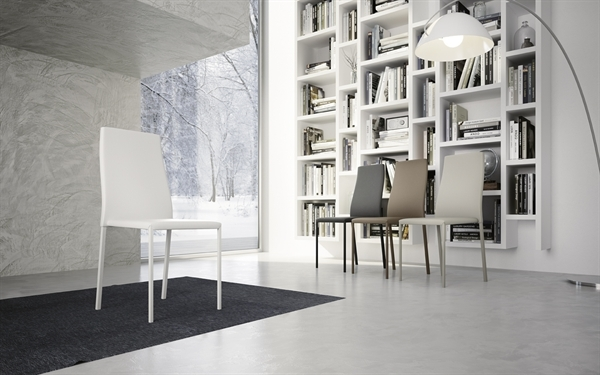 Sedia ecopelle modello cat sedie a prezzi scontati for Zanotti arredamenti