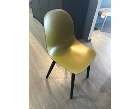 Sedia ergonomica Accademy wood Connubia a prezzo Outlet