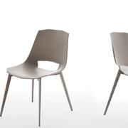 Sedia moderna EVA 1 in plastica di design