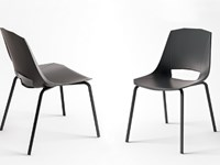 Sedie Ufficio Impilabili : Sedia impilabile moderna eva in plastica da ufficio o cucina