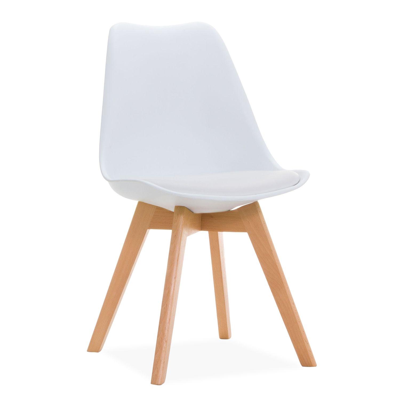 Sedia fine produzione bianca e tortora sedie a prezzi for Sedia design bianca
