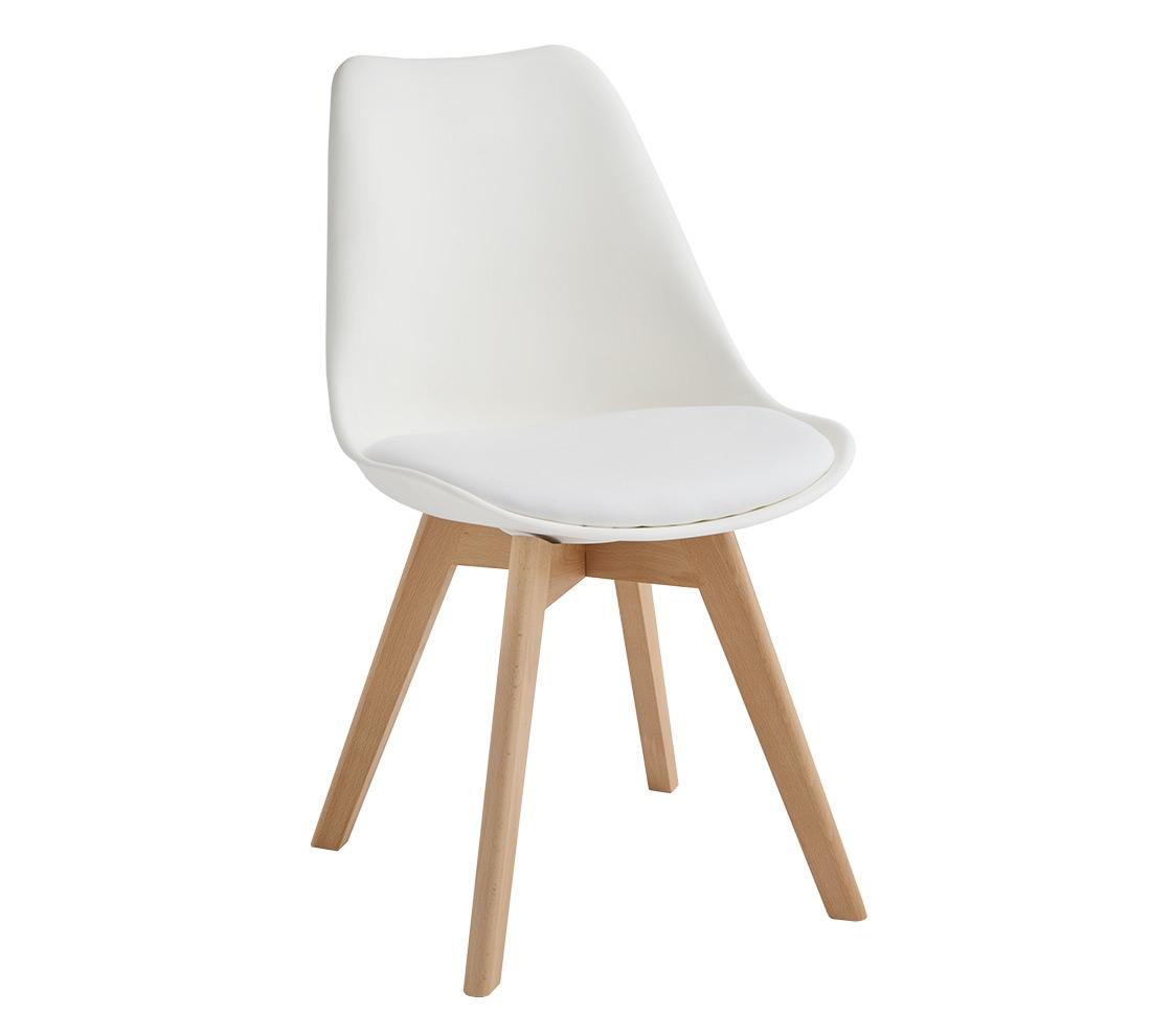 Sedia fine produzione bianca e tortora sedie a prezzi for Sedie design tortora