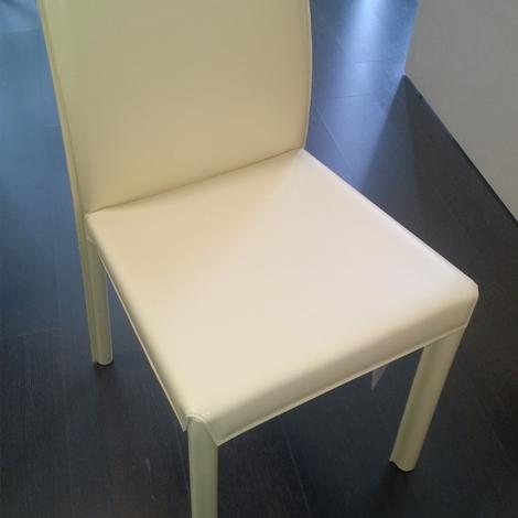 Sedia flai design ewie cuoio sedie a prezzi scontati for Sedie cuoio prezzi