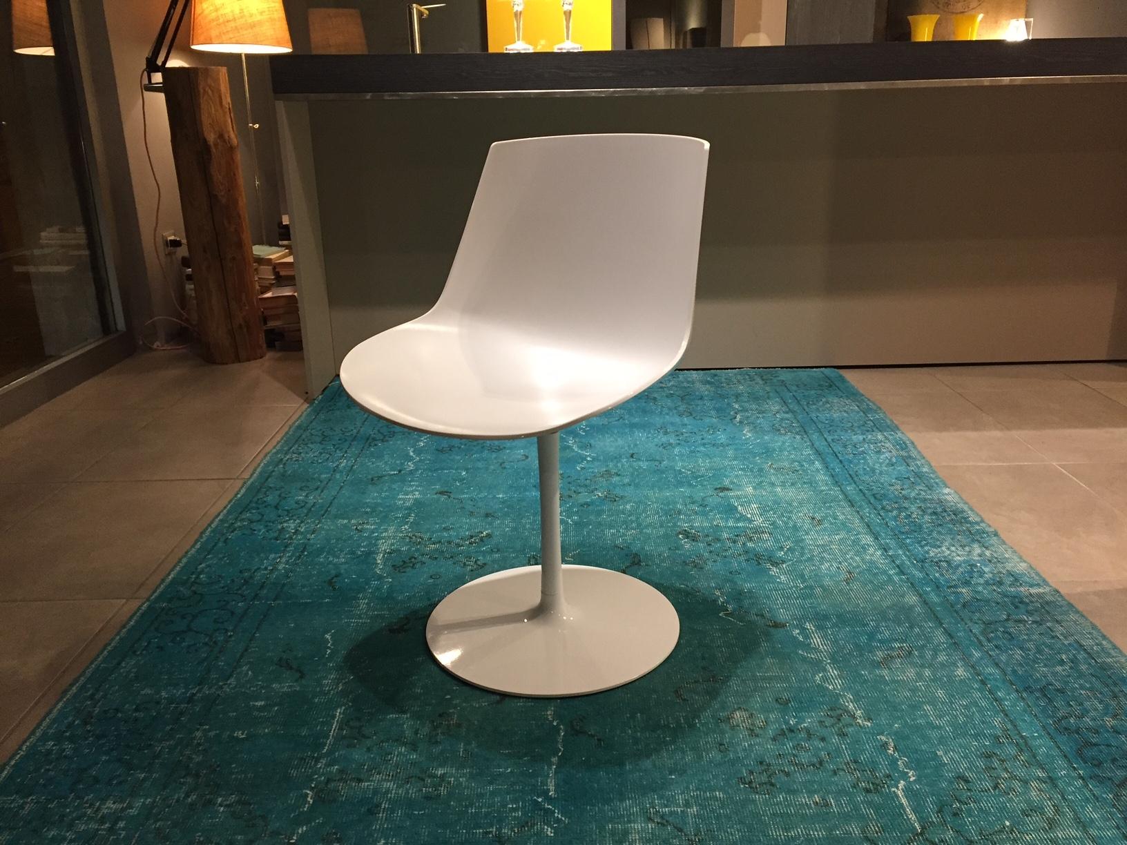 Sedie design girevole mdf italia sedie a prezzi scontati for Sedia design girevole