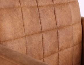Sedia girevole Sedia da pranzo pagano - 65 x 65x 84 cm  Artigianale a prezzo Outlet