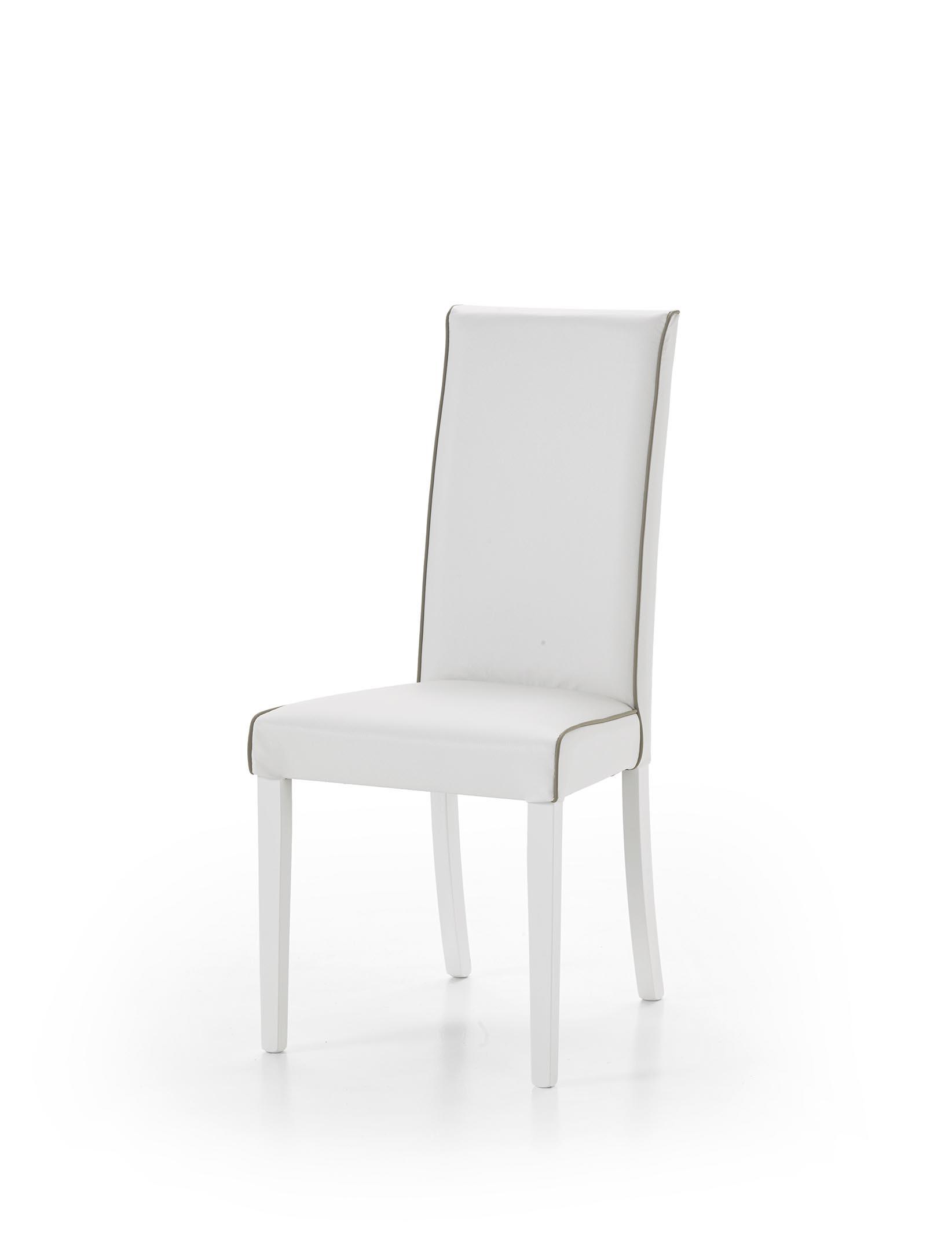 sedia imbottita in finta pelle scontata del 50 sedie a