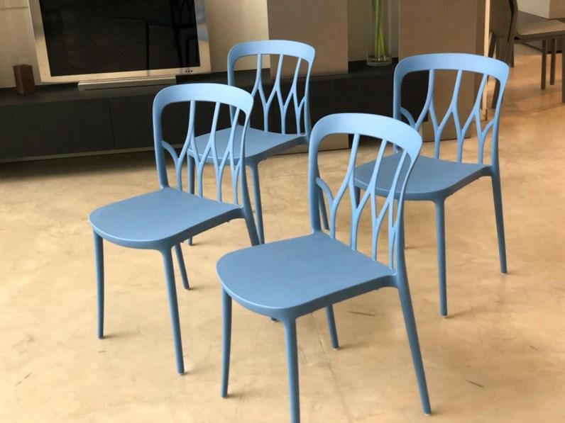 Sedia gio contract bar sedie polipropilene colorate sedia