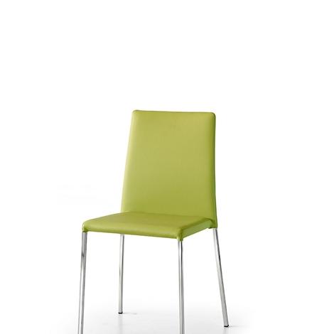 Sedia in eco pelle vari colori sedie a prezzi scontati for Sedie in pelle prezzi