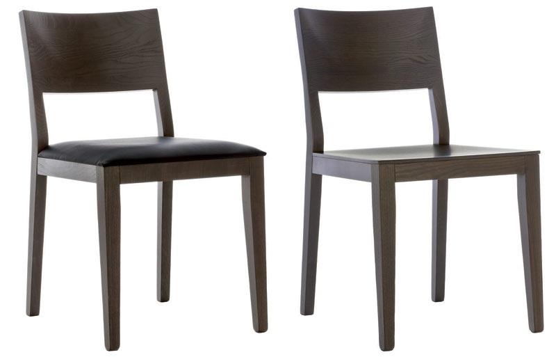 Sedia in legno asia di pianca sedie a prezzi scontati for Sedie di marca