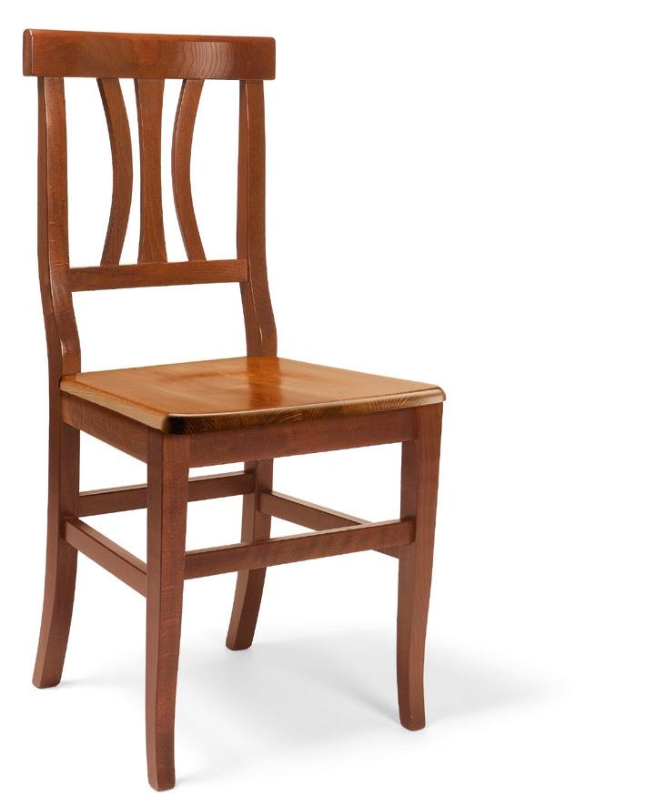 Sedia in legno massello sedie a prezzi scontati for Sedie in legno
