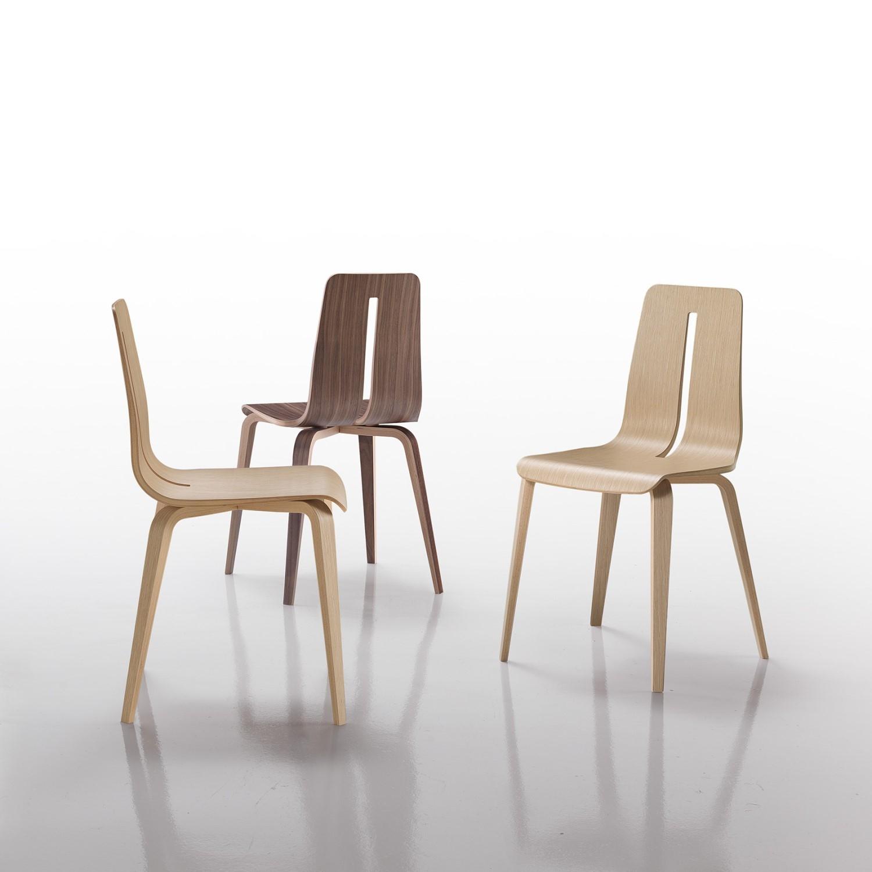 Sedia modello platone di caimi sedie a prezzi scontati for Sedie design metallo
