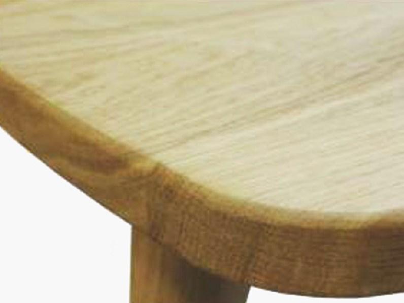 Sedia in legno massello di rovere