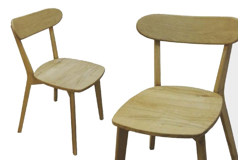 Sedia in legno massello di rovere - Sedie a prezzi scontati