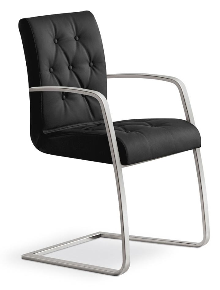 Sedia con braccioli in metallo effetto pelle padova 2 sedie a prezzi scontati - Sedie ufficio padova ...
