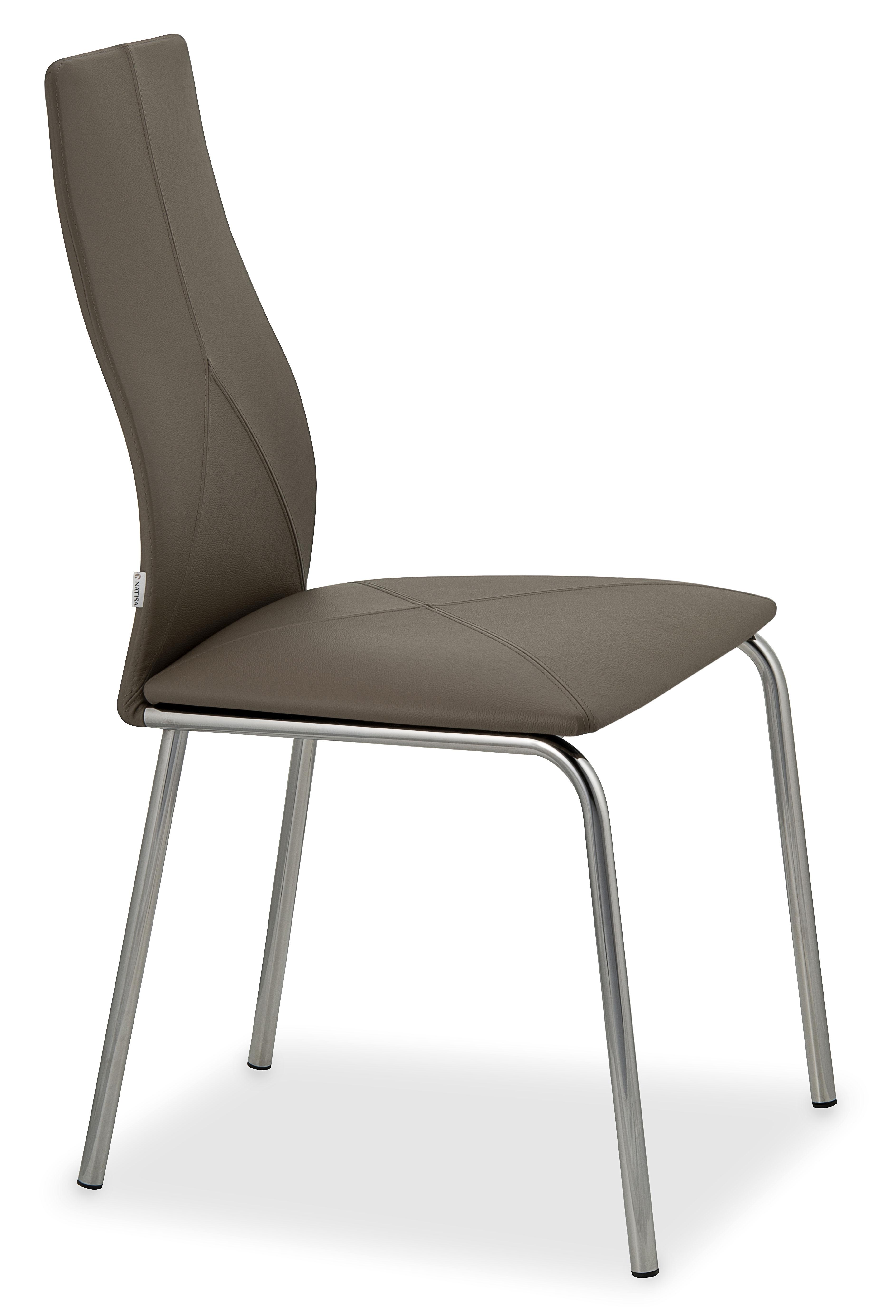 sedia in metallo e pelle trani 2 sedie a prezzi scontati