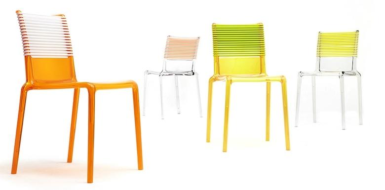 Sedia in policarbonato progetto di philippe starck sedie for Sedie in policarbonato