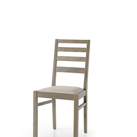 Sedia in tinta bianco o tortora sedie a prezzi scontati for Sedie design tortora