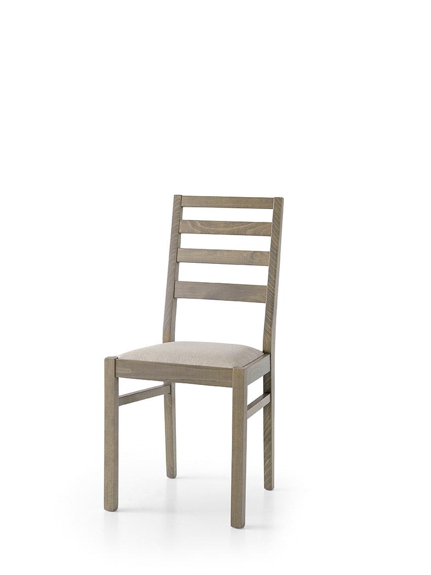Sedia in tinta bianco o tortora sedie a prezzi scontati for Sedie moderne prezzi
