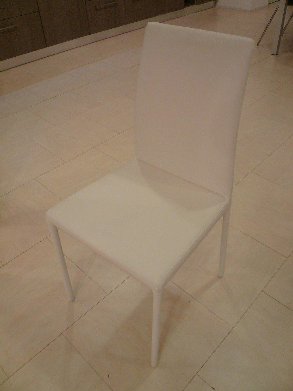 Sedia julia design moderno in ecopelle sedie a prezzi for Sedia design moderno