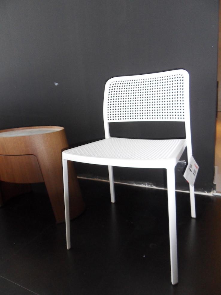 Sedia kartell audrey bianca in super offerta sedie a for Sedie kartell prezzi