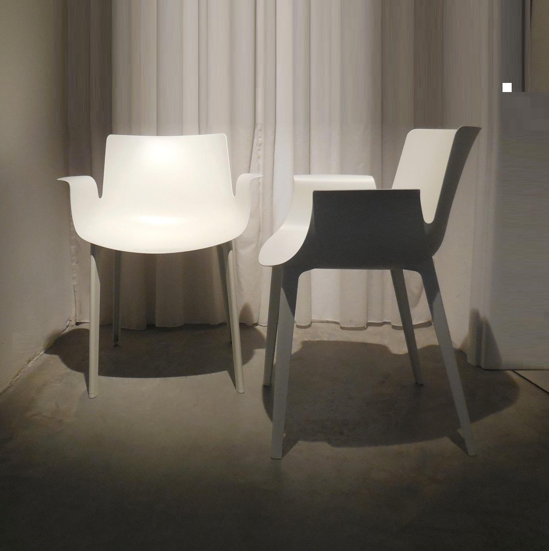 Sedia kartell kartell sedie poltroncine piuma in pronta for Sedie design kartell