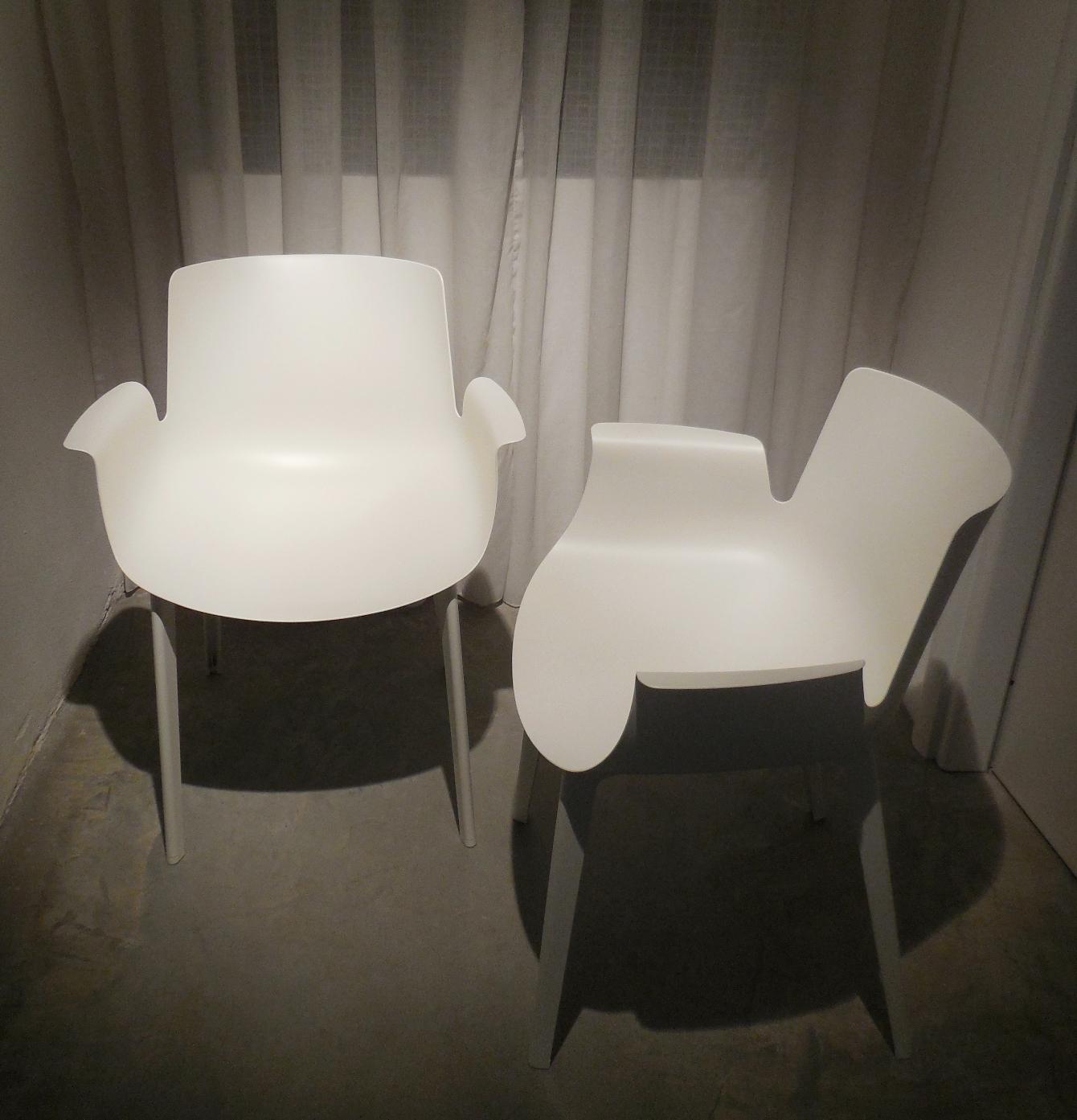 Sedia kartell kartell sedie poltroncine piuma in pronta for Design sedie