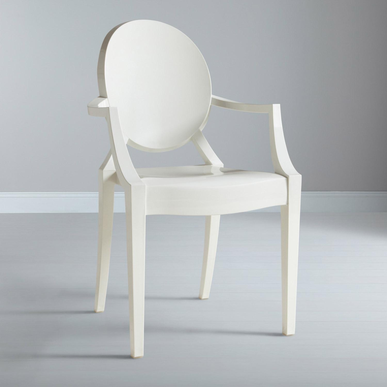 Sedia kartell ghost in policarbonato design philippe - Sedia kartell ghost ...