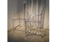 Sedia Kartell set 2 sedie louis ghost Kartell in OFFERTA OUTLET