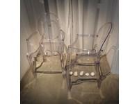 Sedia Kartell set 4 sedie louis ghost Kartell in OFFERTA OUTLET